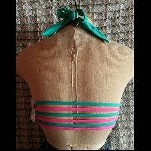 NWT Aeropostale strappy bikini top